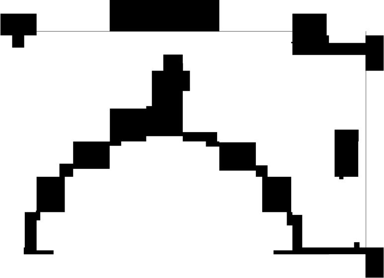 Držák hromosvodu na hřeben