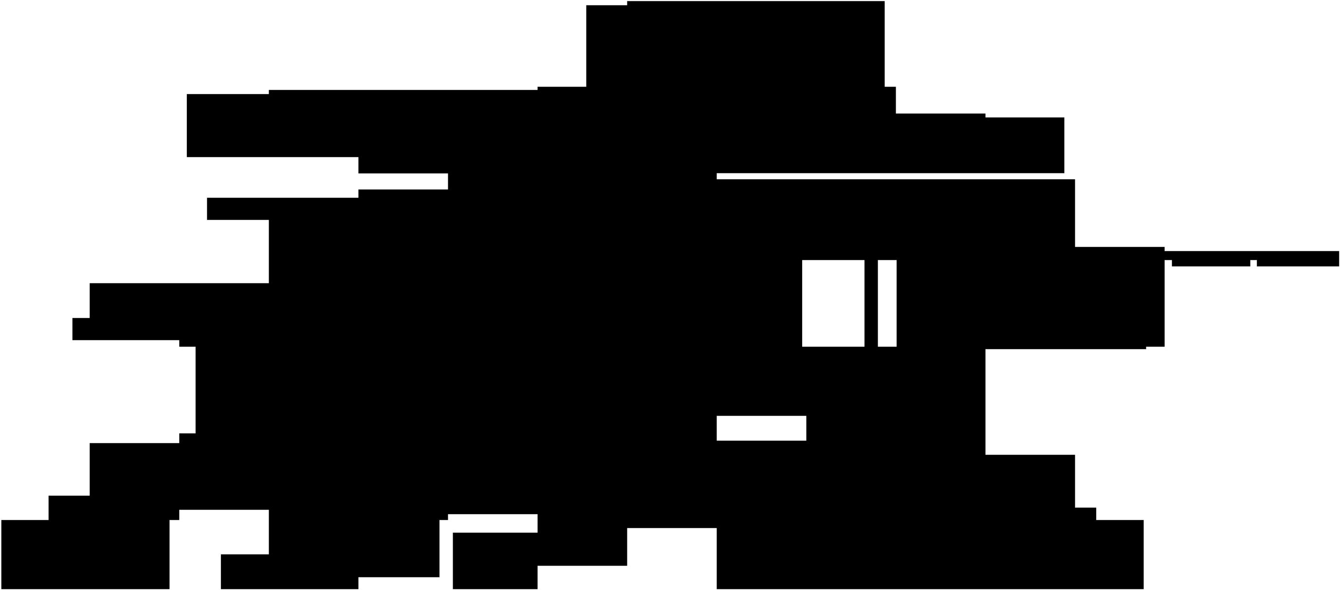 Detail uložení hřebene